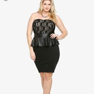 😁PRICEDROP😁Torrid peplum dress
